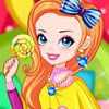 Play Rainbow Girl with Lollipop