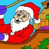 Santa Claus - Coloring Game A Fupa Dress-Up Game