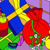 Play X-mas Gifts Coloring Game