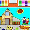 Play Kids Farm Coloring