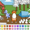 Play Color Games - Easter Dinosaurs