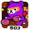 Play Donut Ninja - Tappi Bear
