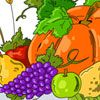 Play Autumn Harvest Coloring Page