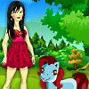 Play Cute Amy And Pony