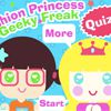 Play Princess or Geek Quiz