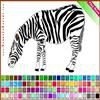 Play Zebra Coloring