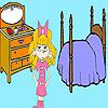 Play Lucy in the bedroom coloring
