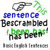 Play Bescrambled - Basic English Sentences