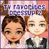 Play TV Favorites Dressup Game 2 - Greekie
