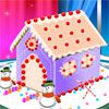 Play Gingerbread House Cake