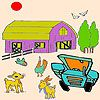 Play Animals and farm coloring