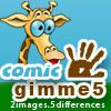 gimme5 - comic A Free Puzzles Game