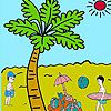 Play Palm  beach coloring