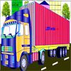 Play Container Truck Coloring