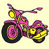 Play Big express motorbike coloring