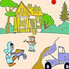 Play Construction workers coloring
