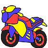 Play Hot ready motorbike coloring