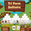 Play Tri Farm Solitaire