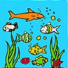 Play Ocean aquarium coloring