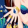 Play Dazzling Mermaid Nails Makeover 123GirlGames