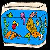Play Amazing aquarium fishes coloring