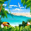 Play Tropical Animated Puzzle