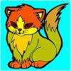 Play cat coloring
