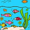 Best ocean fishes coloring