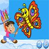Play Coloring Book Butterfly