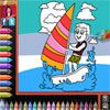 Play Coloring Book - Beach