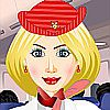 French Stewardess DressUp A Fupa Dress-Up Game